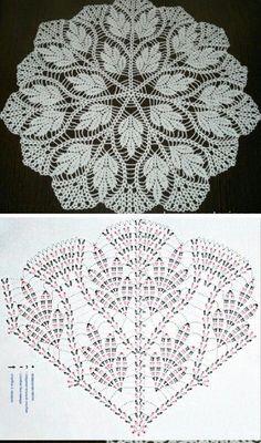 Crochet Mandala Coaster Rugs New Ideas Crochet Tablecloth Pattern, Free Crochet Doily Patterns, Crochet Doily Diagram, Crochet Mandala, Crochet Art, Thread Crochet, Crochet Motif, Crochet Designs, Crochet Crafts
