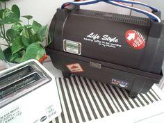 100均プランター2つで簡単☆トランク風収納ボックス♪|LIMIA (リミア) Camper Life, Suitcase, Diy And Crafts, Bags, Style, Handbags, Swag, Briefcase, Bag