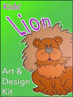 Lion Art and Design  Kit