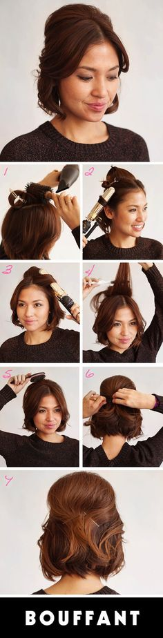 Bouffant Hairstyles on Pinterest | Hairstyles, Hair and Big Hair