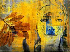 'Yellow girls' von Gabi Hampe bei artflakes.com als Poster oder Kunstdruck $23.56