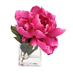 335 best images on pinterest in 2018 tree peony beautiful silk peony arrangement in hot pink mightylinksfo