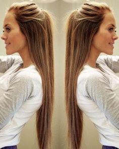 long #hair style
