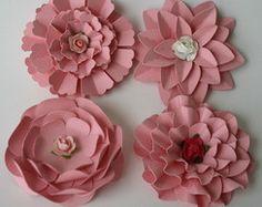 Flores de scrapbook