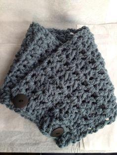 Crochet Green cowl