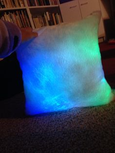 Light up color changing pillow!