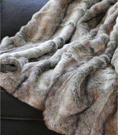 Plaid Fausse Fourrure Gris 150 X 170 cm Fur Blanket, Blanket Stitch, Plaid Gris, Faux Fur Rug, Cooling Blanket, Wearable Blanket, Throw Cushions, Pillows, Cotton Quilts
