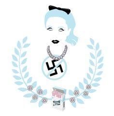 Rebecca Scheja -REBECCA & FIONA - BEUTY IS PAIN & CAPITALISM | Ilustration art by Walker LaFee | #edm #djs #art #BEAUTY   #holler #candylove #beautyispain #iloveyouman, #janedoe, #bullets, #overdosedowntown #marlboro #cigarette #daisies #EDM #electronic #electronicmusic #house