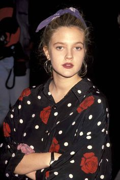 The time she looked badass even while wearing a polka dot and rose printed blouse: