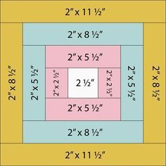 Measurements for a block quilt / 48 blocks, 8 rows of 6 blocks each, for twin size quilt