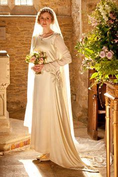 Downton Abbey Lady Edith Wedding Dress