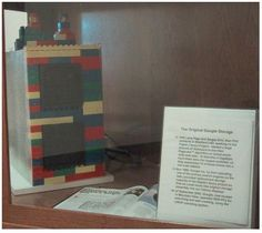 Primer rack de almacenamiento de datos de #Google, construido con #LEGO.