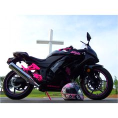 A badass Ninja bike that I'd love, love, love to have!(: