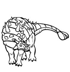 Ankylosaurus, : Ankylosaurus Sharp Shell Coloring Page Online Coloring Pages, Coloring Sheets, Doodle Art, Shells, Folk, Animals, Conch Shells, Colouring Sheets, Animales