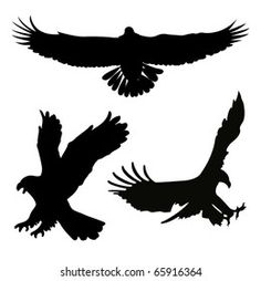 Silhouette Aigle, Eagle Silhouette, Black Silhouette, Bird Silhouette Tattoos, Scroll Saw Patterns, Illustrations, Free Vector Images, Cute Gifts, Art Projects