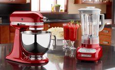 Kitchen Aid leva mais agilidade e beleza para a sua cozinha!