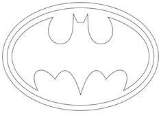 batman symbol outline - Google Search