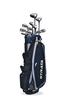 Callaway Strata Plus Complete Set - The Strata Plus golf club set from Callaway provides distance and forgiveness immediately with an expanded set to hit the course right now. Lowest Prices on Callaway Plus at Golf Discount Mens Golf Clubs, Ladies Golf Clubs, Golf Clubs For Sale, Girls Golf, Callaway Strata, Best Golf Club Sets, Golf Club Reviews, Gentleman, Perfect Golf