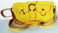 Bolsa de pulso amarela - Bolsas