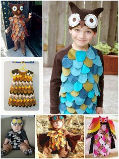 Milkweed: Owl Costumes in the works... | Furniture Store