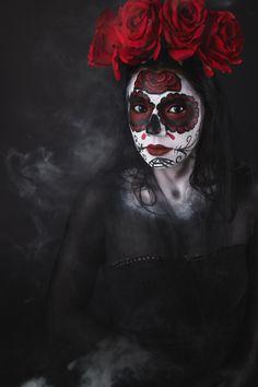 Day of the Dead-Concept Art Photography-Hawaii-Florida-International -Debi Buck of Portrait Photography, Wedding Photography, Big Island Hawaii, Hawaiian Islands, Hawaii Wedding, Concept Art, Halloween Face Makeup, Florida, Artist