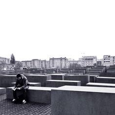 Holocaust-Mahnmal ~ Taken with Nikon D3100 on Nov 06 2014 in Berlin