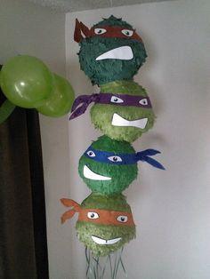 Ninja turtles pinata idea