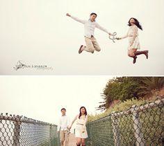 love shoot: sweet california beach engagement {geena & kenny}