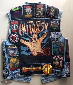 Death Metal vest   TShirtSlayer TShirt and BattleJacket Gallery tshirtslayer.com