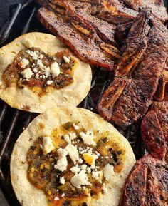 Korean Ribs + Tacos Korean Ribs, Sausage, Tacos, Meat, Ethnic Recipes, Food, Sausages, Essen, Meals