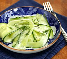 Cucumber-ribbon-salad-with-ranch-style-dressing