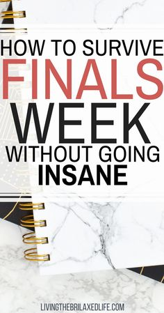 How to Make it Through College Finals Week in One Piece - Living the Brilaxed Life College Freshman Tips, College Life, College Club, School Life, Study Tips For Students, Effective Study Tips, College Survival Guide, Exams Tips, Study Quotes