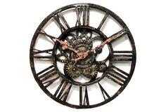 Classic Gear Wall Clock