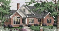 This 1 story Country features 1698 sq feet. Call us at 866-214-2242 to talk to a House Plan Specialist about your future dream home!