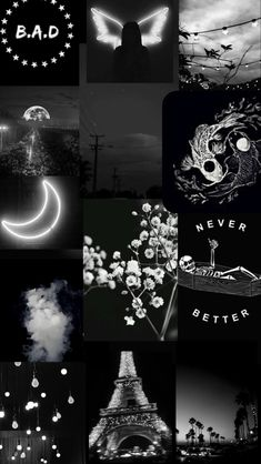 Iphone Wallpaper Themes, Dark Phone Wallpapers, Cute Black Wallpaper, Black Phone Wallpaper, Glitch Wallpaper, Iphone Wallpaper Tumblr Aesthetic, Black Aesthetic Wallpaper, Cute Wallpaper Backgrounds, Pretty Wallpapers