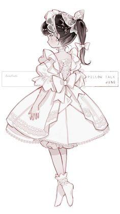 Cute Kawaii Drawings, Kawaii Art, Love Illustration, Character Illustration, Pretty Art, Cute Art, Character Inspiration, Character Art, Anime Chibi