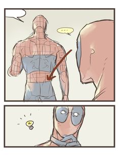 Artist:村井くん Name:くものしり Part 1 Spideypool   Deadpool   Spiderman   Deadpool x…