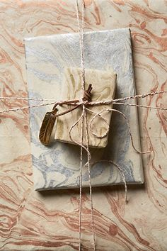 Marbled Wrapping Paper - anthropologie.com