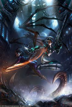 Starcraft pleasure kerrigan