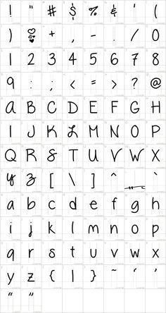 Vanessa Loves You Font · 1001 Fonts