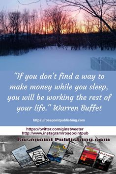 If you don't find a way to make money while you sleep...