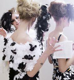 Chanel Spring-Summer 2013, backstage