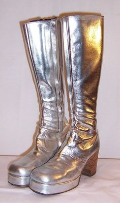 Men's Original 1970's Glam-Rock Band Silver by PatriciaJon on Etsy