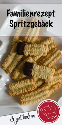 Hier möchte ich Euch unser Familienrezept für Spritzgebäck verraten, es ist w… Here I would like to tell you our family recipe for shortbread cookies, it is really the best! Cookie Recipes From Scratch, Healthy Cookie Recipes, Oatmeal Cookie Recipes, Chocolate Cookie Recipes, Peanut Butter Cookie Recipe, Banana Bread Recipes, Cake Mix Cookies, Shortbread Cookies, Cookies Et Biscuits
