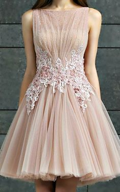Evening Dress,Tulle Evening Dress #promdress