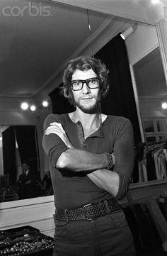 Yves Saint Laurent * 1970 photo Condé Nast by reginald gray