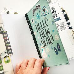 January Carpe Diem FREE printables for Traveler's Notebooks!