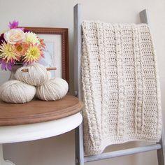 Crochet Pattern - Sweet Haven Baby Blanket P124