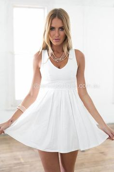 adcbddfe1b317 Blessed Angel Dress (White)