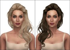 Kenzar Newsea Millet(Hair Retexture)• 22 swatches(naturals and unnaturals) • Mesh by Newsea • Hope you like it ! • Actions by Pooklet and texture it's a mix using @aveirasims texture and internet...